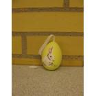 Påske æg til at hænge gul
