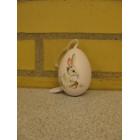 Påske æg til at hænge lyserød