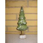 Juletræ med glimmer