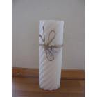 Stearinlys hvid