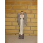 Engel med hvid kjole