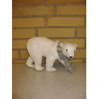 Isbjørn med glimmer