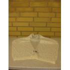 Tørklæde angora look hvid