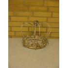 Vintage kongekrone til 4 lys