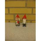 Alf og Ann med rød hat