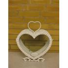Hjerte Lanterne hvid